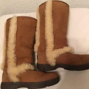 UGG Brand New suede & fur boots